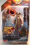 Pirates of Carribean Magic Reveal- Captain Barbossa 4' Figure
