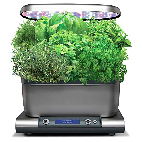 $129.99 AeroGarden Harvest Grey 2019