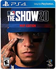 MLB The Show 20 MVP Edition for PS4 - PS4 exclusive - ESRB Rated E (Everyone) - Sports Game - Max Number of Mu