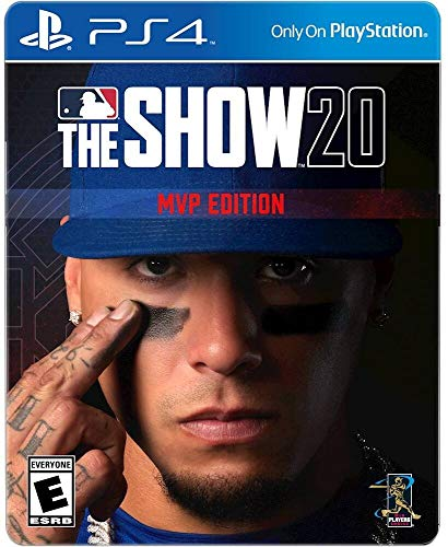 MLB The Show 20 MVP Edition for PS4 - PS4 unique - ESRB Rated E (Everyone) - Sports Game - Max Number of Multi-players: 8 - Receive 4 Days Early Access