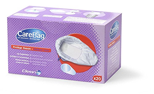 Carebag Medical Grade Bedpan Liner with Super Absorbent Pad, 20 Liners by Cleanis (Image #1)