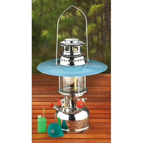 Mil-Spec Adventure Gear Plus MSA05-6452000000 Nickel Plated Steel Kerosene Hurricane Lantern by Mil-Spec Adventure Gear Plus