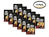 PACK OF 12 - Taco Bell Mild Taco Seasoning Mix, 1 oz