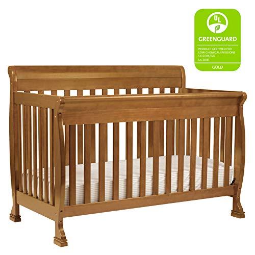 DaVinci Kalani 4-in-1 Convertible Crib in Chestnut | Greenguard Gold Certified