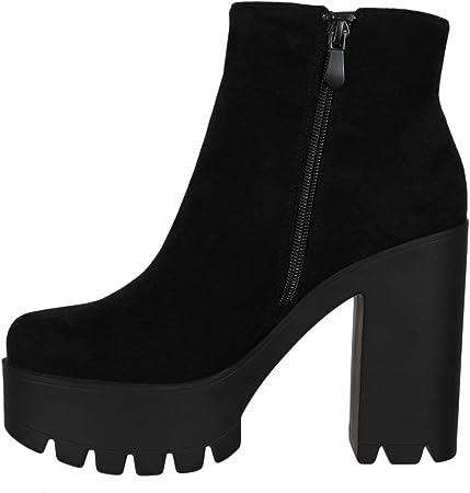 Elara Botines de Mujer Chelsea Boots Chunkyrayan