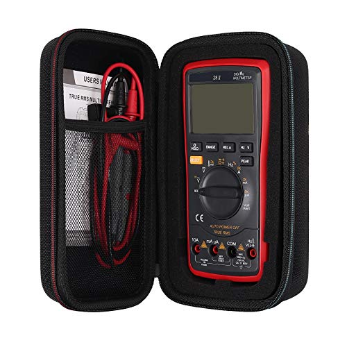 Proster Multimeter Storage Case with Magnetic Hanger Strap Portable Hanging Lanyard Carrying Bag for Fluke101/Fluke115/116/117/113/114/177/ F15B+/F17B+/F18B+/Fluke 87V 88V /Neoteck 6000 Count