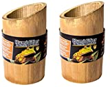(2 Pack) Galapagos Natural Bamboo Terrarium Humidifiers Small