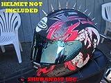Motorcycle Helmets Streetbike Harley Davidson Parts Hd 1037-1 Helmet Mohawks Spike Strips Mohawk Helmet Not Included