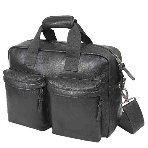 Leather Diseño Negro Color Tomec Eastpak Leather Maletín TqttwB