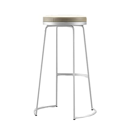 Pleasant Amazon Com Di Dani Bar Stools Pu Cushion White Modern Bar Andrewgaddart Wooden Chair Designs For Living Room Andrewgaddartcom