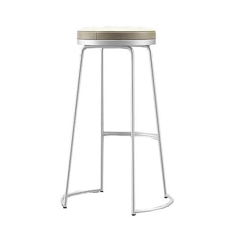 Enjoyable Amazon Com Di Dani Bar Stools Pu Cushion White Modern Bar Cjindustries Chair Design For Home Cjindustriesco