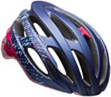 Cheap Bell Falcon MIPS Joy Ride Bike Helmet – Women's Matte/Gloss Navy/Cherry Fibers Medium