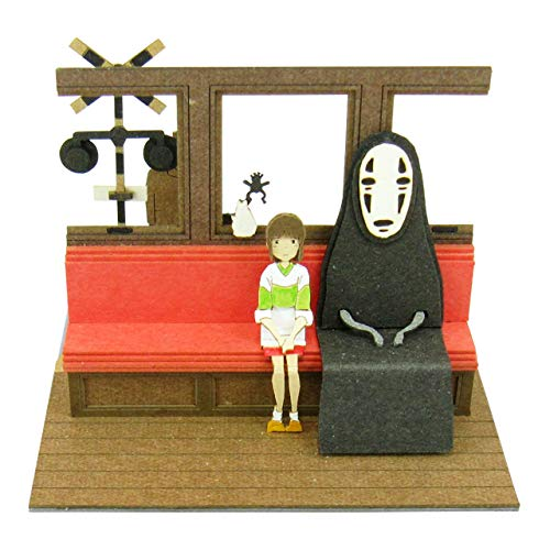 Sankei mini Studio Ghibli spirited away Ocean electric railway to scale papercraft MP07-15