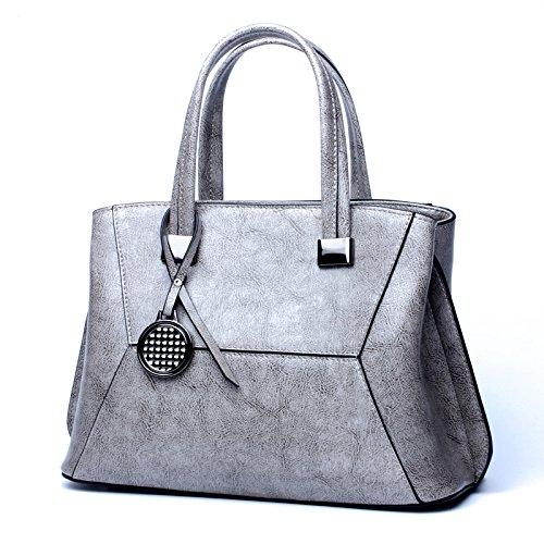 Con Grossartig Gray color Size Borsa Tracolla Donna Da Nuova In M 2018 Gray A Pelle x4wSqZ1x