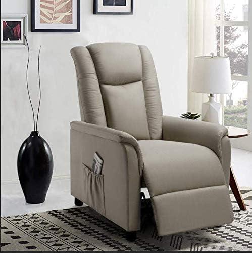 Pretzi Recliner Chair Adjustable Single Reclining Sofa - a good cheap living room chair