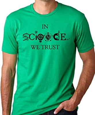 In Science We Trust Cool T-Shirt Funny Atheist Tee