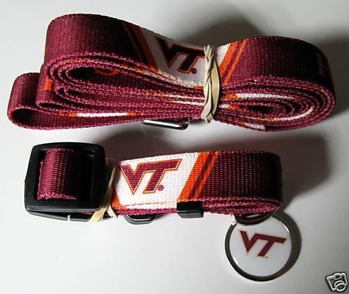 Hunter Virginia Tech University Pet Combo Set (Collar, Lead, ID Tag), X-Small