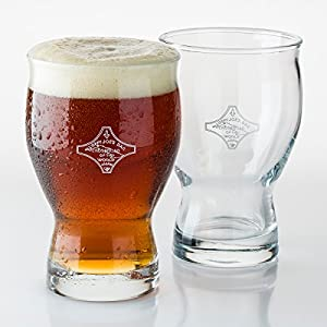Sloppy Joe's Bar of Havana Beer Glass (Gift Box Set of 2)