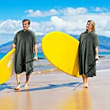 Surf Poncho Changing Towel Robe for Adults Men