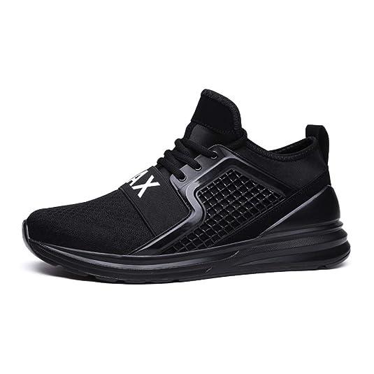 Flarut Zapatillas de Running Padel para Hombres Zapatos Deportivas ...