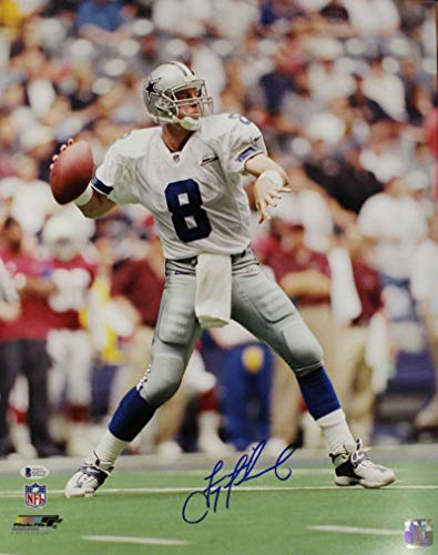 Troy Aikman Autographed/Signed Dallas Cowboys 16x20 Photo ()
