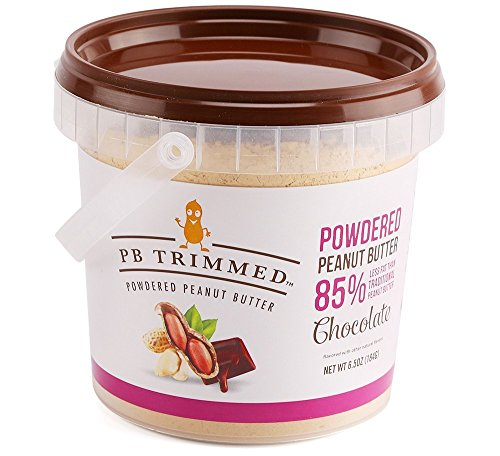 Powdered Peanut Butter (Chocolate, 6.5 Oz) PB Trimmed (Powdered Pb)