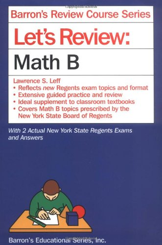 Let's Review Math B (Let's Review Series)