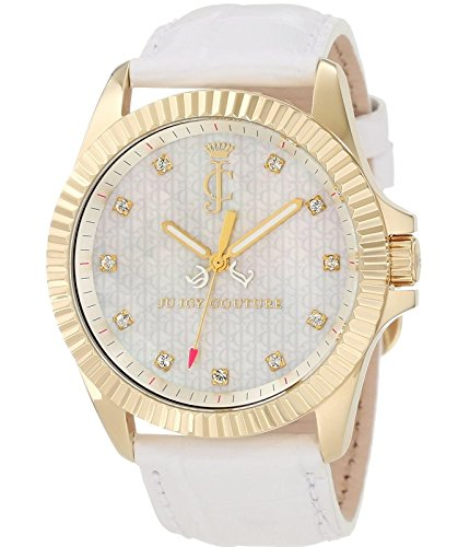 Juicy Couture Women's 1900930 Stella Croc Embossed Leather Strap (Croc Embossed Strap)