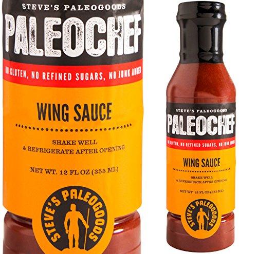 STEVES PALEOGOODS Wing Sauce Paleo, 12 FZ