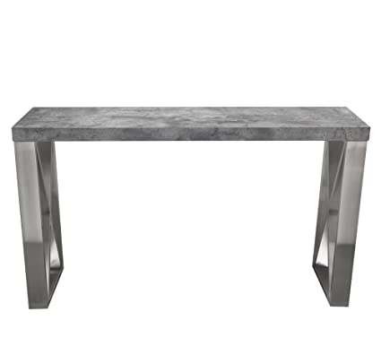 Amazoncom Carrera Console Table In 3d Marble Finish With Brushed