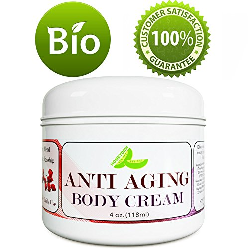 Anti-Aging Body Cream for Women & Men - Body Butter For Dry Skin - Reduce Fine Lines & Wrinkles - Stretchmark & Scar Removal Cream With Antioxidants Vitamin E Jojoba & Cocoa Butter- by Honeydew