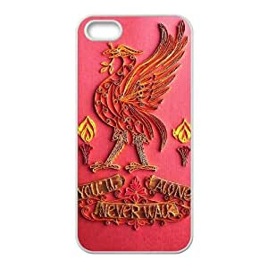 iPhone 5 5S Case White Liverpool Logo Cell Phone Case Cover D2I1LE