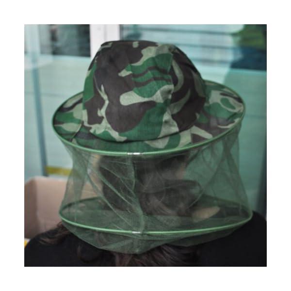 Andifany Maschera Cappello Camouflage Patten Apicoltore Apicoltura 4 spesavip