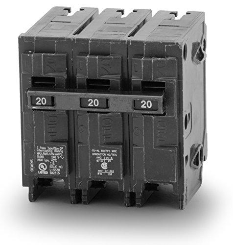 3 Pole Type - Siemens Q320 3 Pole, 20A, 240V Circuit Breaker