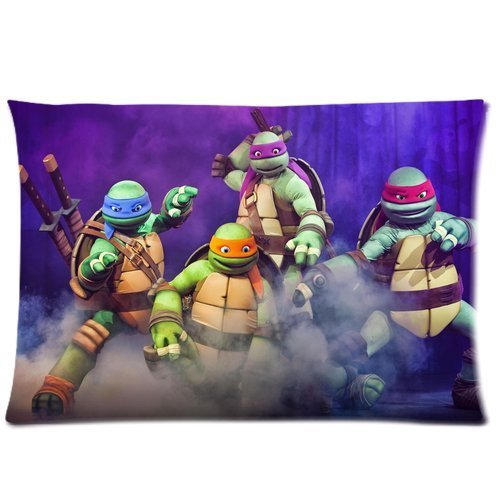 Ninja Turtles Teenage Mutant Pillowcase Standard Size 20
