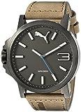 Best Puma Watch Bands - PUMA Men's PU103461017 Ultrasize 50 - Gun Brown Review