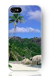Original Chuntihavi NEW Print Hard Skin Case Cover Shell for mobilephone Apple iphone 4s, Interesting Fashion Design with Hawaiian scenery