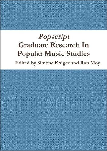 Popscript: Graduate Research In Popular Music Studies: Amazon ...