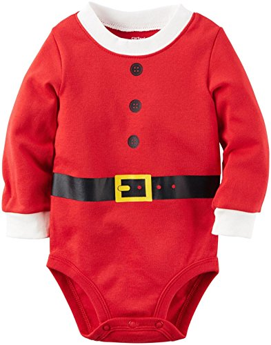 Carter's Santa Bodysuit (Baby) - Red - (Newborn Santa Suit)