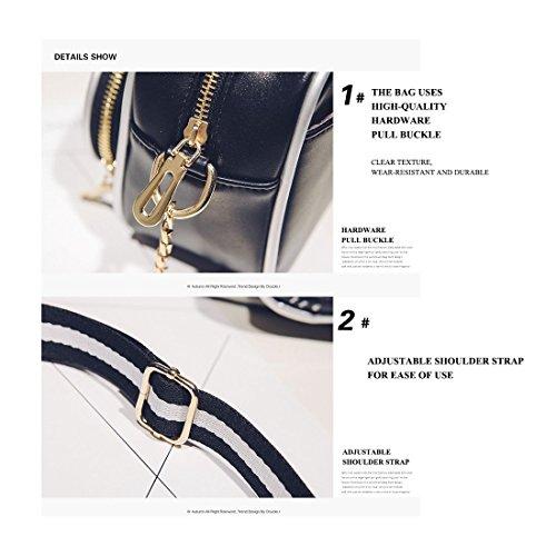 bag handbag party Messenger retro tide shoulder bag bag small camera SODIAL female chain fashion bag New shoulder qHIwOTMF