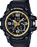 G-Shock GG-1000GB-1A Black and Gold Master of G Twin Sensor Series