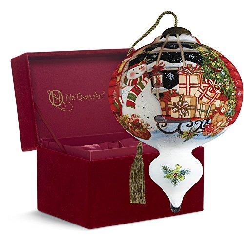Ne'Qwa Art, Christmas Gift Box,