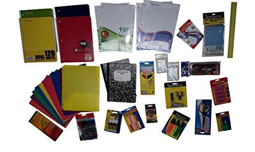 Back to School Supply Pack Bundle Senior/Junior/College-Paper Pens Pencils Accessories
