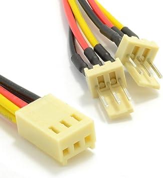 3 Pines Motherboard Ventilador Divisor Adaptador Cable Cable 15 cm ...