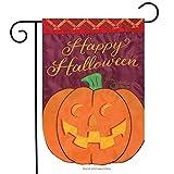 Jack-o_Lantern LED Applique Garden Flag Embroidered 2 Sided Pumpkin 12.5″x18″ Review