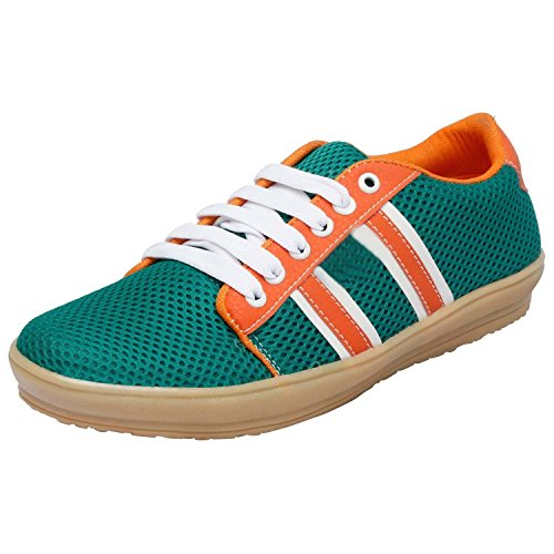 Rosso Italiano Men's Green Sneakers Shoe (ris499gr2312)
