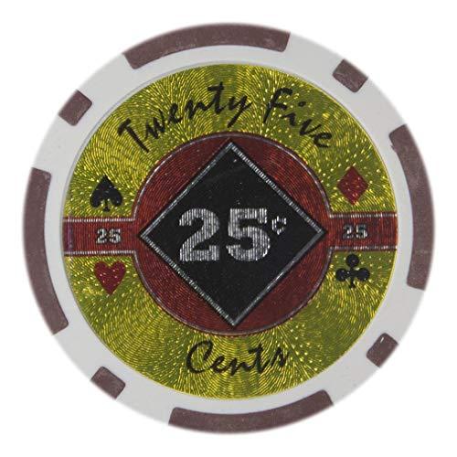 - Bry Belly CPBD-25c 25 Roll of 25 - Black Diamond 14 Gram - .25¢ - cent