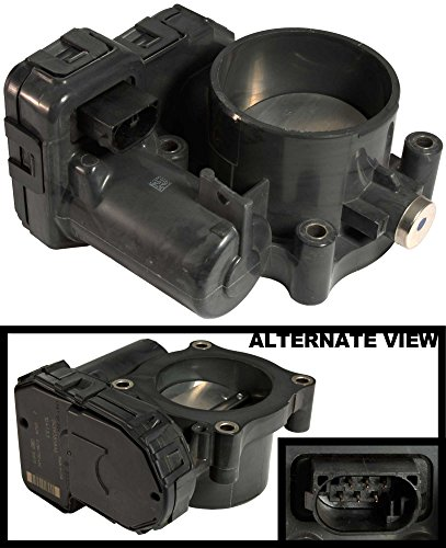 APDTY 112571 Throttle Body Assembly w/Actuator TPS Position Sensor IAC Idle Air Control Fits 2008-2011 Jeep Wrangler w/3.8L / 2008 Chrysler Pacifica w/3.8L / 2008-2010 Chrysler Town & Country w/3.8L / 2008-2010 Dodge Grand Caravan w/3.8L