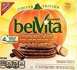 Limited Edition Pumpkin Spice Belvita Breakfast Biscuits 2 X 8.8 Oz Boxes,