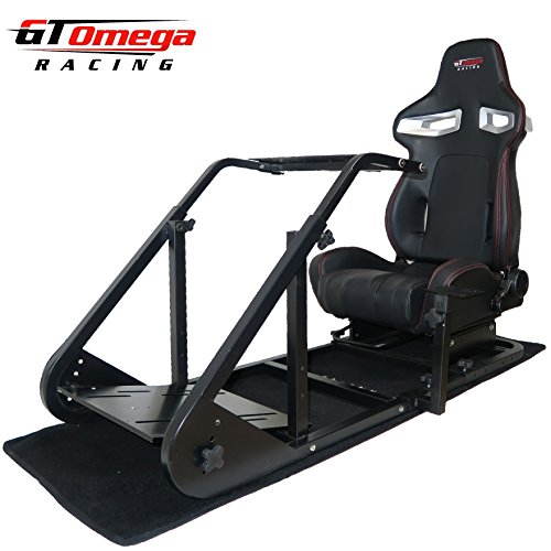 Gt Omega Art Racing Simulator Cockpit Rs9 Gaming Console